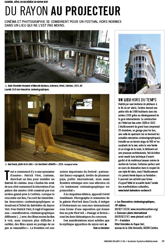 article Parcours des Arts du Sud et de l'Espagne